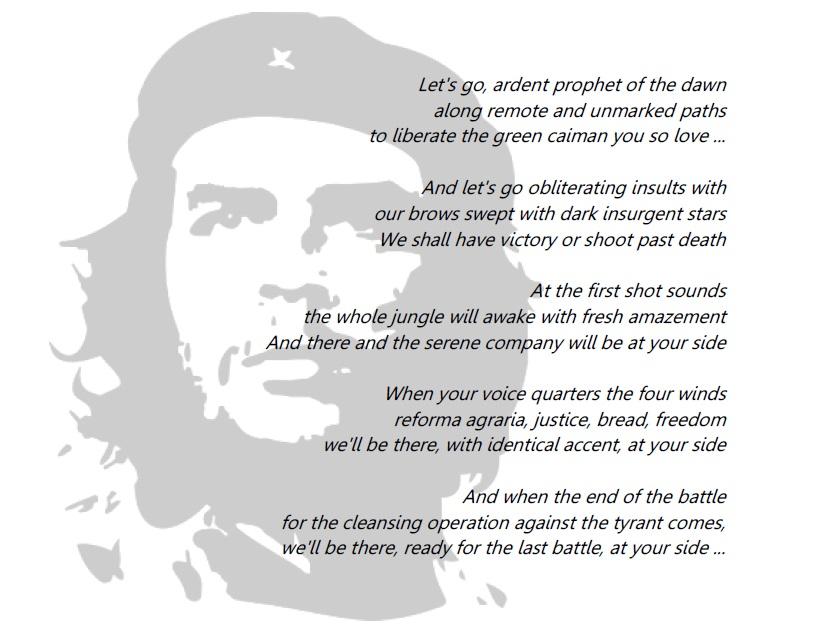 Deg Degan Menerjemahkan Puisi Sang Pejuang Revolusi Lamfaro