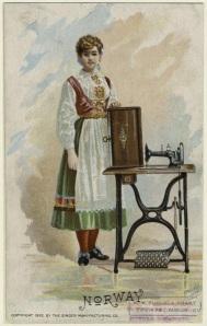 Bunad, kostum tradisional Norwegia