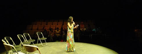 Malam Penutupan Lokakarya Penerjemahan Sastra, Teater Salihara, 28 September 2013.