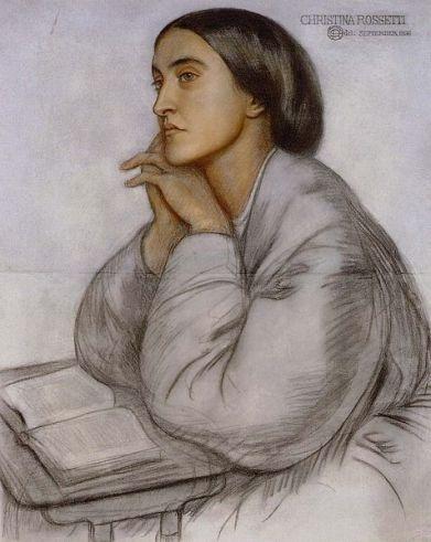 """Christinna Rossetti, penulis puisi """"A Dirge"""" yang membuka The Cuckoo's Calling. Sumber foto: wikipedia"""
