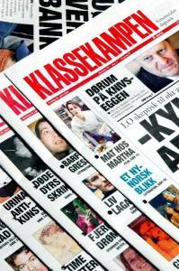 Klassekampen Sumber: http://trondgam.wordpress.com/2012/03/14/kampanjejournalistikk-fra-klassekampen/